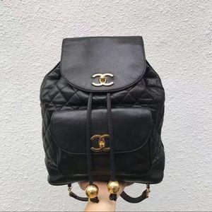 Chanel vintage backpack